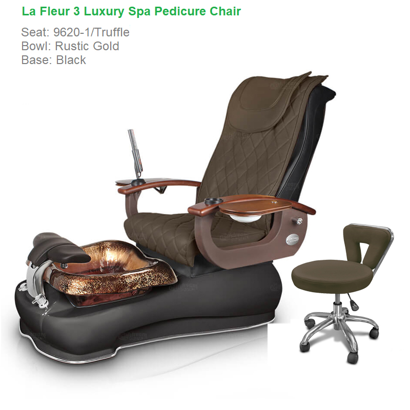 La Fleur 3 Luxury Spa Pedicure Chair With Magnetic Jet Shiatsu Massage System 187 Naildepot Us