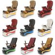 La Fleur 4 Luxury Spa Pedicure Chair with Magnetic Jet – Shiatsu Massage System 12