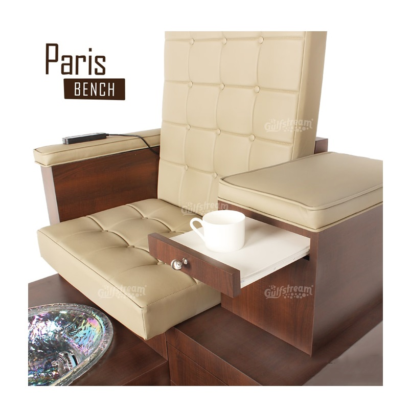 Terrific Paris Triple Luxury Spa Pedicure Bench With Magnetic Jet Spacious Seating Creativecarmelina Interior Chair Design Creativecarmelinacom