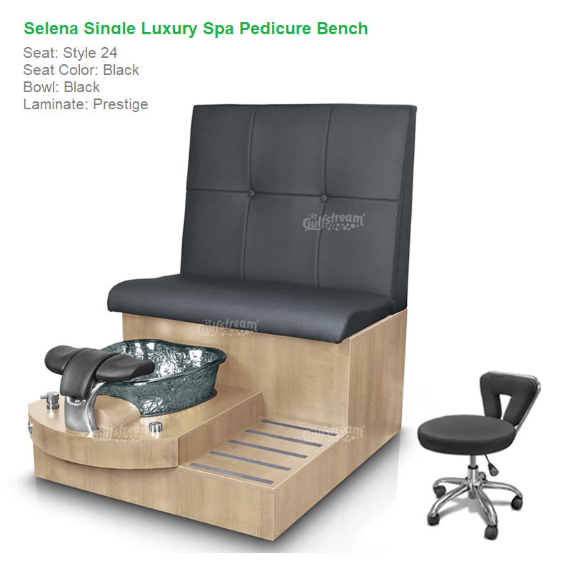 Magnificent Selena Single Luxury Spa Pedicure Bench With Magnetic Jet Spacious Seating Creativecarmelina Interior Chair Design Creativecarmelinacom
