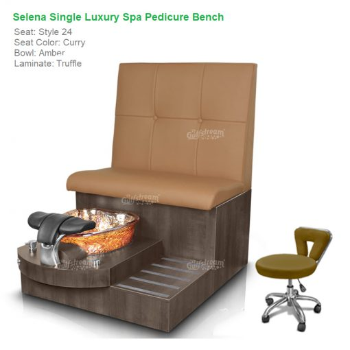 Super Selena Single Luxury Spa Pedicure Bench With Magnetic Jet Spacious Seating Creativecarmelina Interior Chair Design Creativecarmelinacom